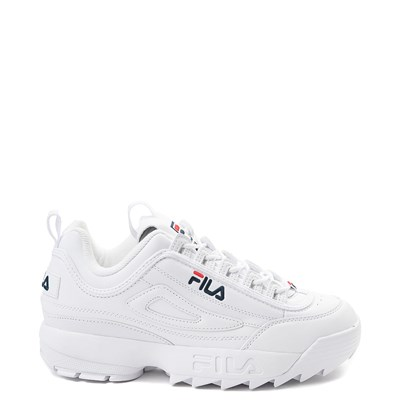 Main view of Mens Fila Disruptor 2 Premium Athletic Shoe - White