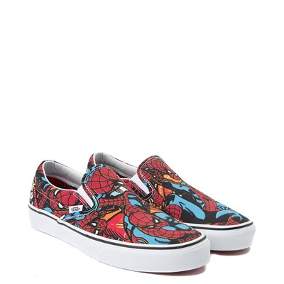 Alternate view of Vans Slip On Marvel Avengers Spider-Man Skate Shoe