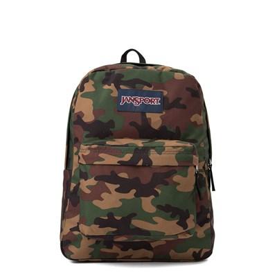 Main view of Jansport Superbreak Surplus Camo Backpack