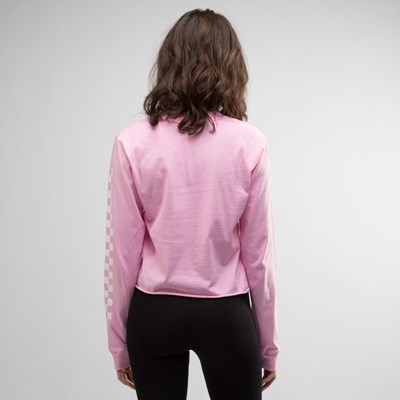 Alternate view of Womens Vans Blast Cropped Long Sleeve Tee