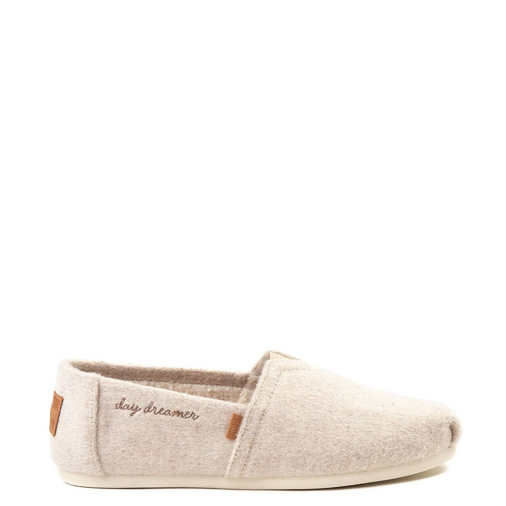 Womens TOMS Classic Felt Slip On Casual Shoe