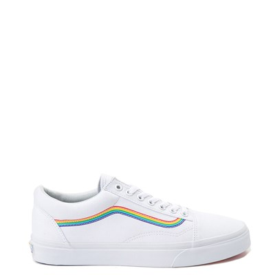 Main view of Vans Old Skool Rainbow Skate Shoe
