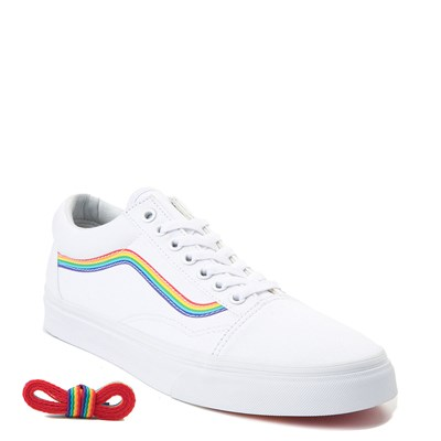 Alternate view of Vans Old Skool Rainbow Skate Shoe
