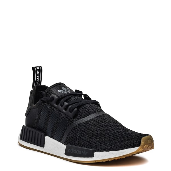 alternate image alternate view Mens adidas NMD R1 Athletic Shoe - Black / GumALT5