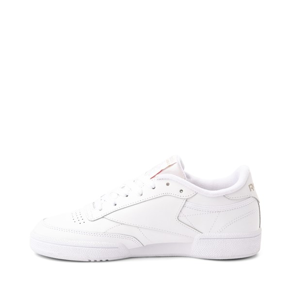 alternate image alternate view Womens Reebok Club C 85 Athletic Shoe - White / Light GreyALT1