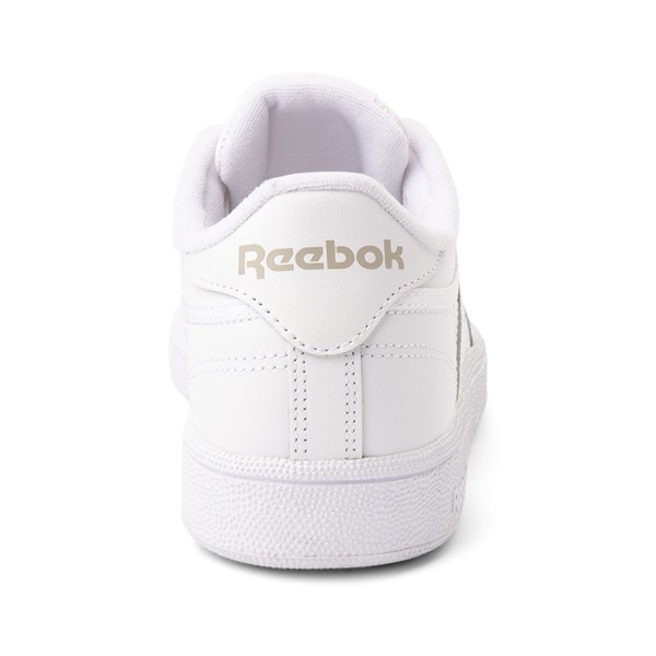 alternate image alternate view Womens Reebok Club C 85 Athletic Shoe - White / Light GreyALT4
