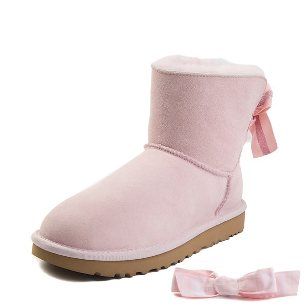 alternate image alternate view Womens UGG® Mini Customizable Bailey Bow II BootALT1