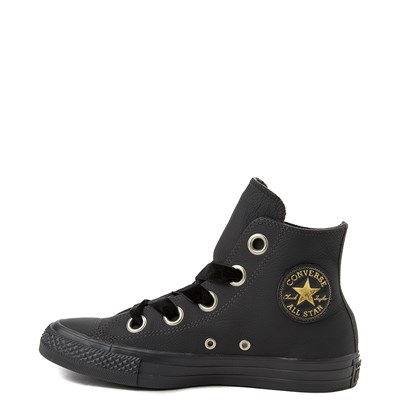 Alternate view of Womens Converse Chuck Taylor All Star Big Eyelets Hi Leather Sneaker