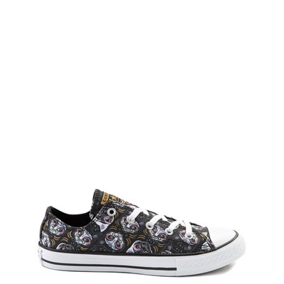 Main view of Converse Chuck Taylor All Star Lo Sugar Skull Cats Sneaker - Little Kid