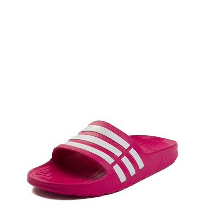 Alternate view of adidas Duramo Slide Sandal - Big Kid / Little Kid