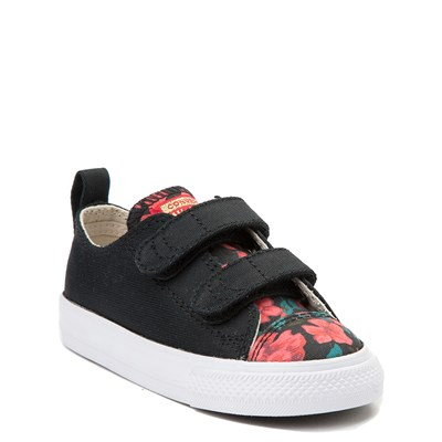Alternate view of Converse Chuck Taylor All Star 2V Lo Floral Sneaker - Baby / Toddler