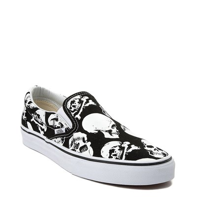 Alternate view of Vans Slip On Skulls Skate Shoe