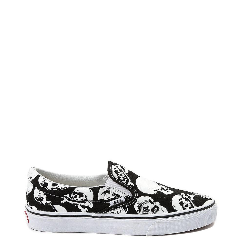 Vans Slip On Skulls Skate Shoe