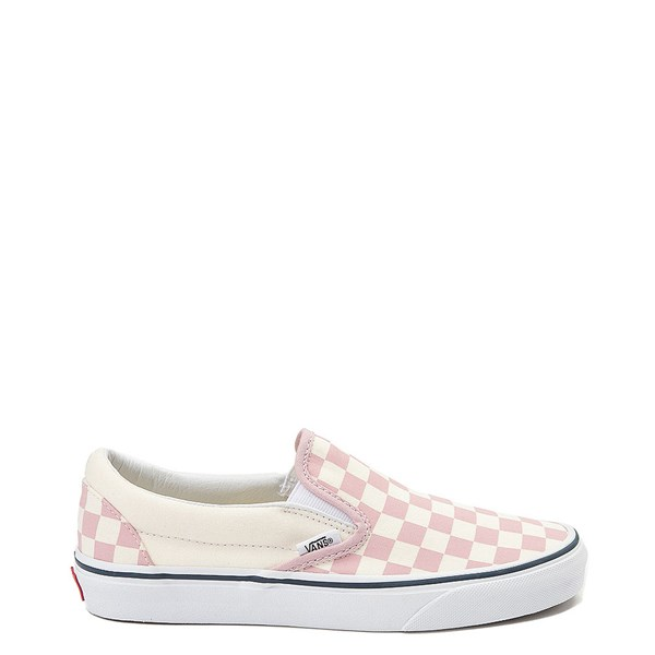 Main view of Vans Slip On Chex Skate Shoe