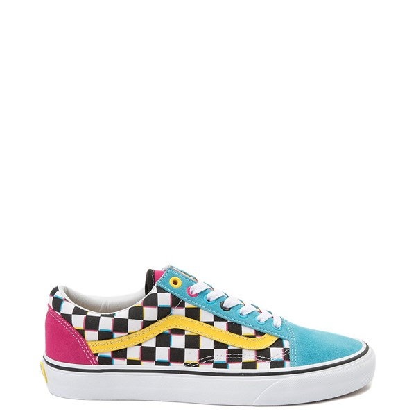 Vans Old Skool Checkerboard Skate Shoe - Multi