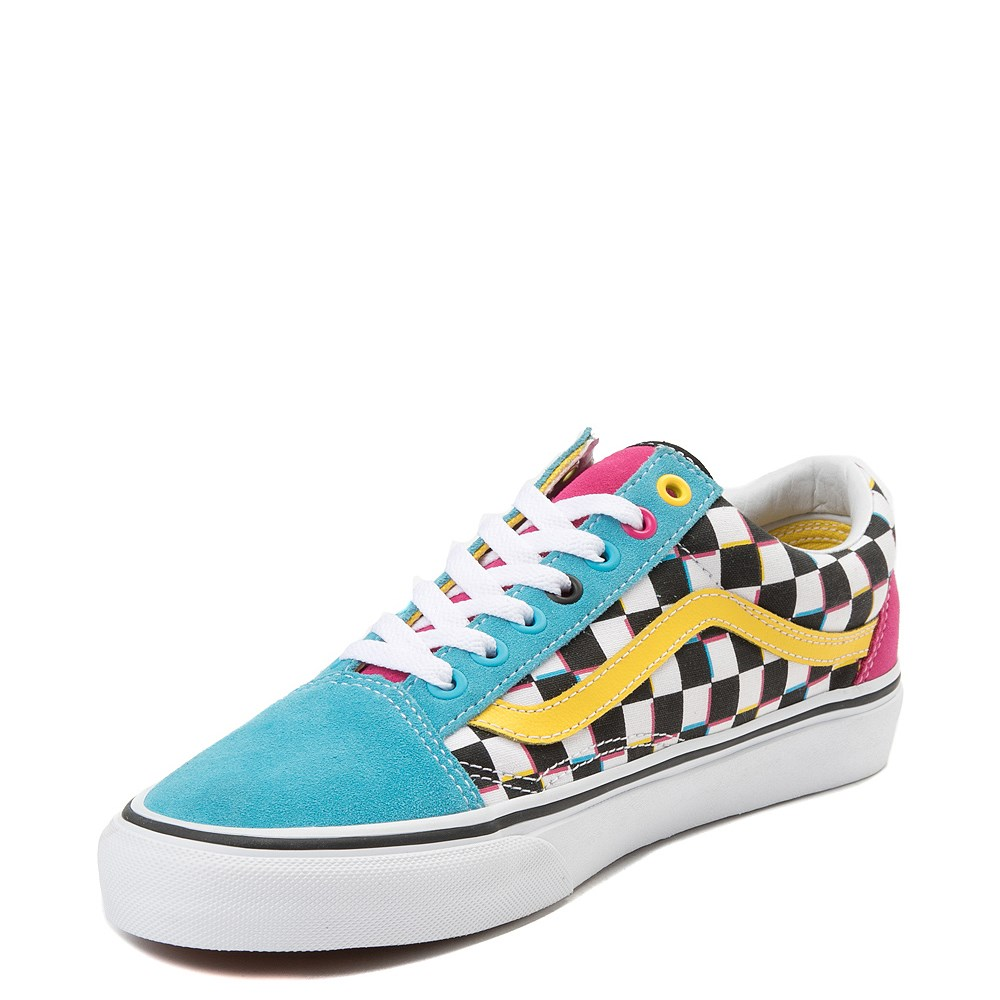 ea9e35c8f0 Vans Old Skool Chex Skate Shoe