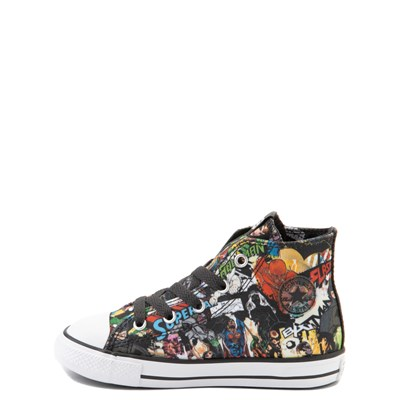 Alternate view of Converse Chuck Taylor All Star Hi DC Comics Justice League Sneaker - Baby / Toddler