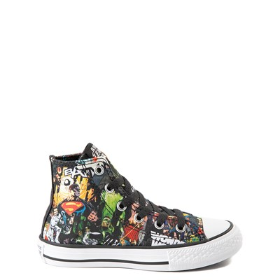 Main view of Converse Chuck Taylor All Star Hi DC Comics Justice League Sneaker - Little Kid