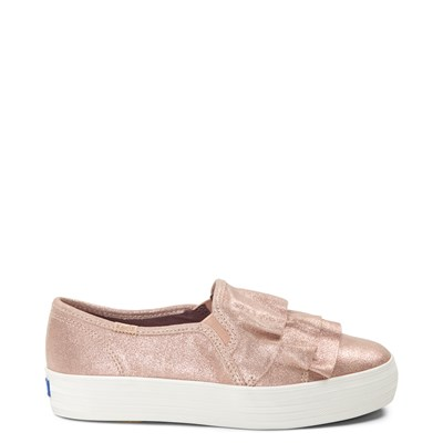 Main view of Womens Keds Triple Ruffle Slip On Casual Shoe