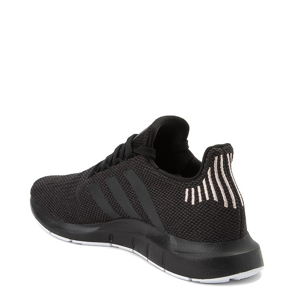 alternate image alternate view Womens adidas Swift Run Athletic Shoe - Black / WhiteALT2
