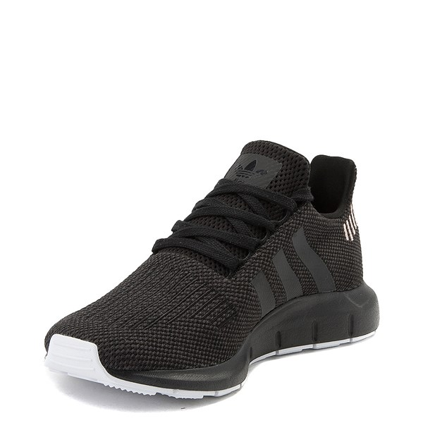 alternate image alternate view Womens adidas Swift Run Athletic Shoe - Black / WhiteALT3