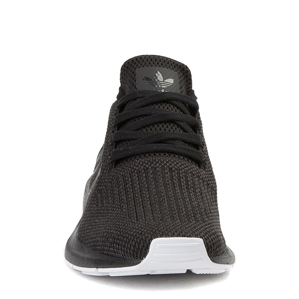 alternate image alternate view Womens adidas Swift Run Athletic Shoe - Black / WhiteALT4