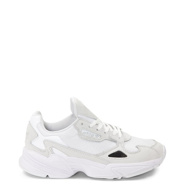 Main view of Womens adidas Falcon Athletic Shoe - White