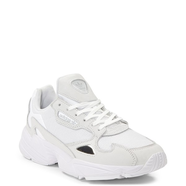 alternate image alternate view Womens adidas Falcon Athletic Shoe - WhiteALT1