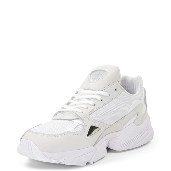 alternate image alternate view Womens adidas Falcon Athletic Shoe - WhiteALT3