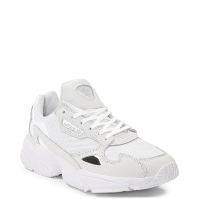 Alternate view of Womens adidas Falcon Athletic Shoe - White