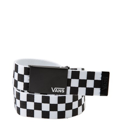 Main view of Vans Checkered Web Belt