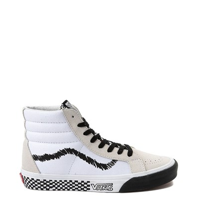 Main view of Vans Sk8 Hi DIY Print Skate Shoe