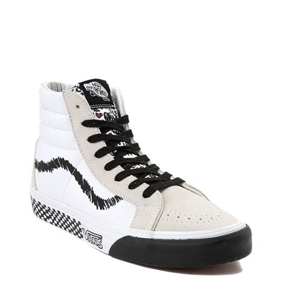 Alternate view of Vans Sk8 Hi DIY Print Skate Shoe
