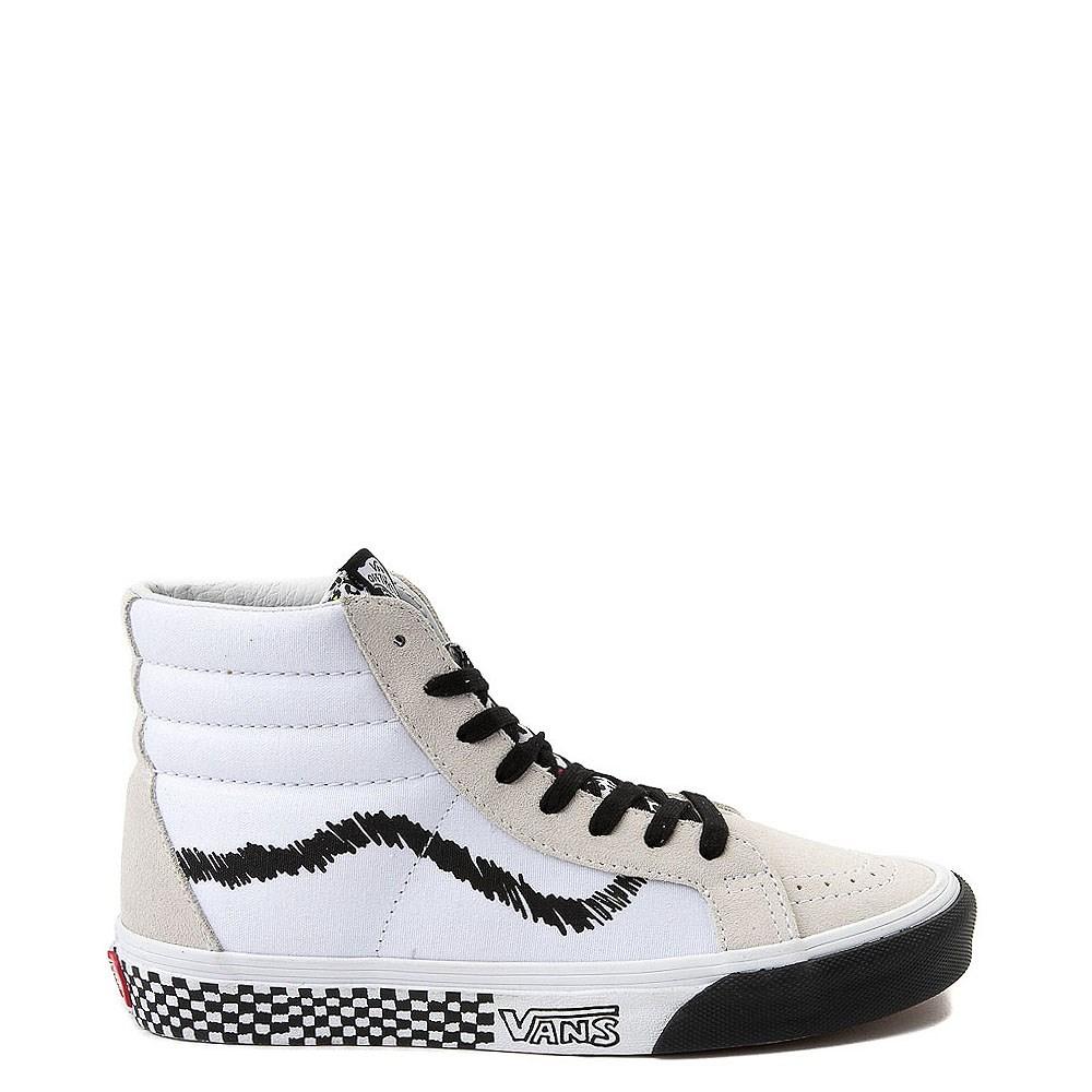 bbfbe0d5bbbf Vans Sk8 Hi DIY Print Skate Shoe