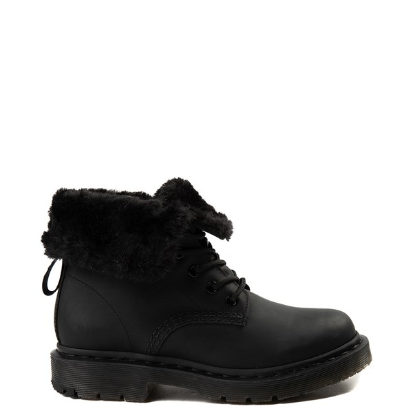 Main view of Womens Dr. Martens 1460 8-Eye Kolbert Boot - Black