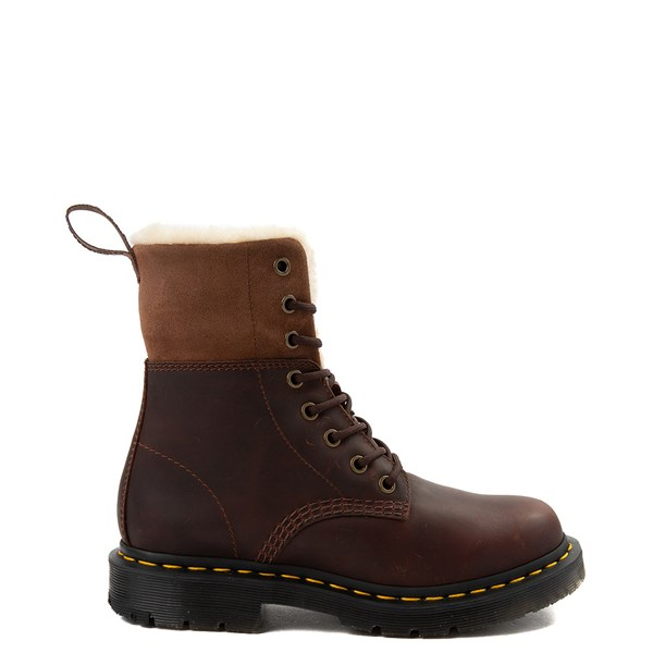 Womens Dr. Martens 1460 8-Eye Kolbert Boot - Dark Brown