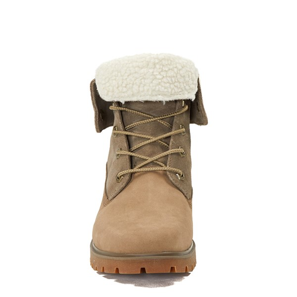 alternate image alternate view Womens Timberland Jayne Fleece Boot - TaupeALT4
