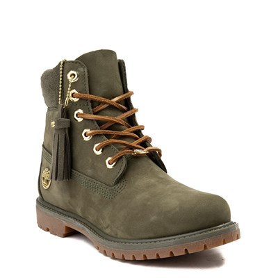 "Alternate view of Womens Timberland 6"" Premium Wool Collar Boot"