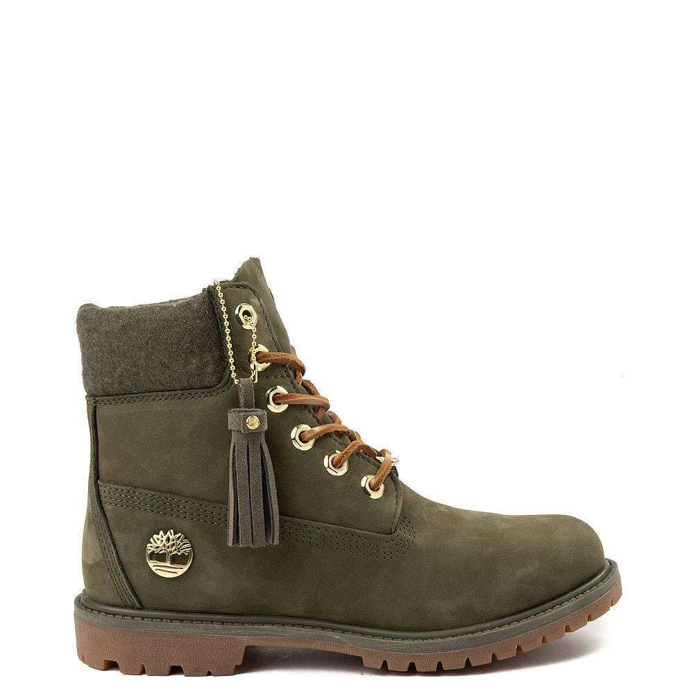 """Womens Timberland 6"""" Premium Wool Collar Boot"""