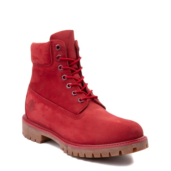 "alternate image alternate view Mens Timberland 6"" Classic Boot - RedALT1"