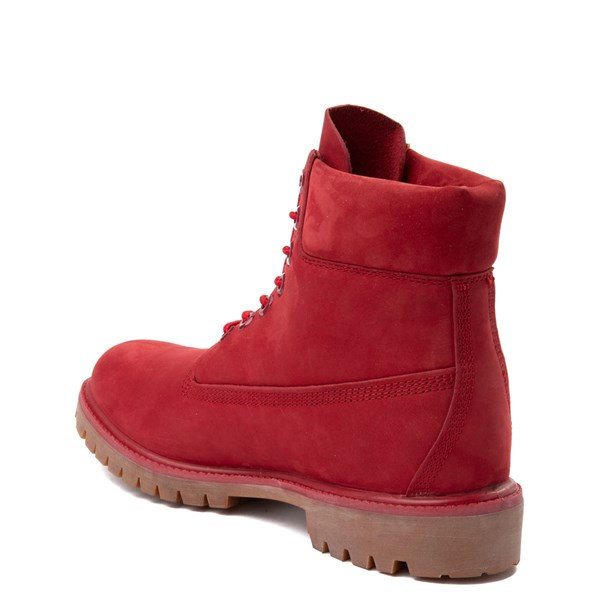 "alternate image alternate view Mens Timberland 6"" Classic Boot - RedALT2"