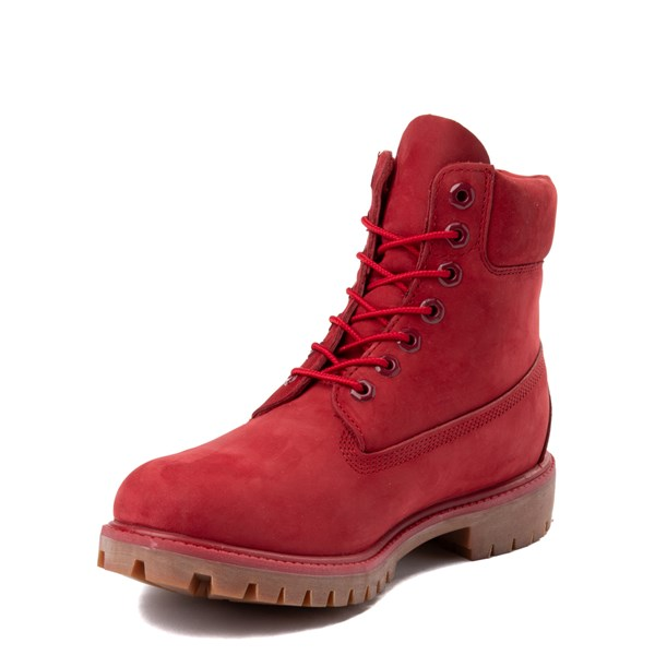 "alternate image alternate view Mens Timberland 6"" Classic Boot - RedALT3"