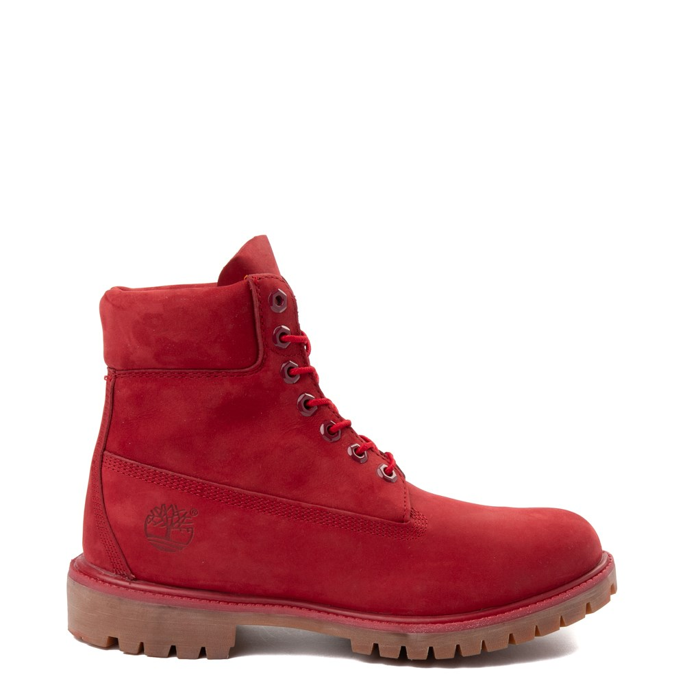 "Mens Timberland 6"" Classic Boot - Red"