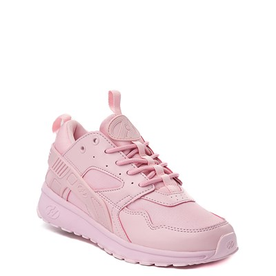 Alternate view of Heelys Force Skate Shoe - Little Kid / Big Kid - Pink Monochrome