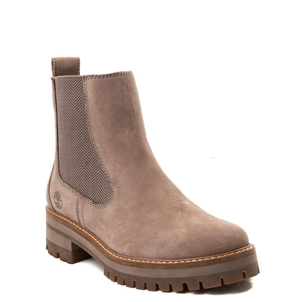 alternate image alternate view Womens Timberland Courmayeur Valley Chelsea Boot - GreyALT1