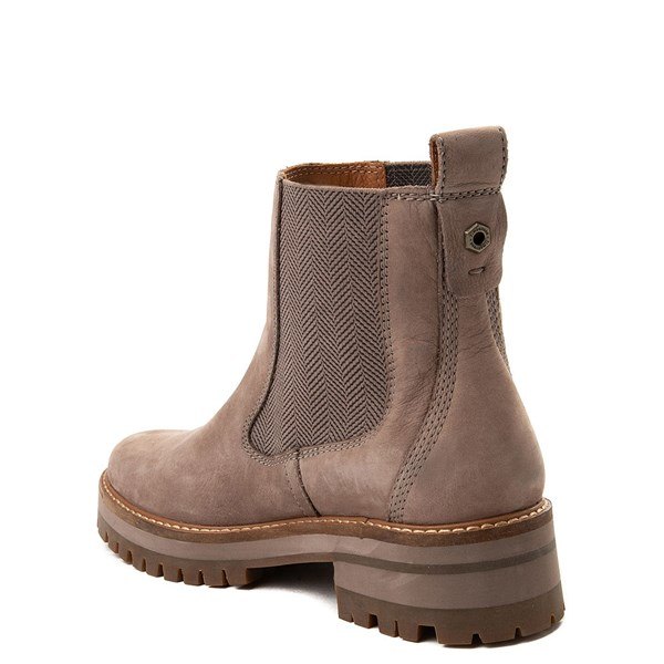 alternate image alternate view Womens Timberland Courmayeur Valley Chelsea Boot - GreyALT2