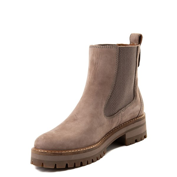 alternate image alternate view Womens Timberland Courmayeur Valley Chelsea Boot - GreyALT3