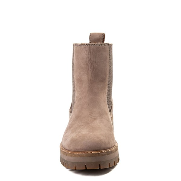 alternate image alternate view Womens Timberland Courmayeur Valley Chelsea Boot - GreyALT4