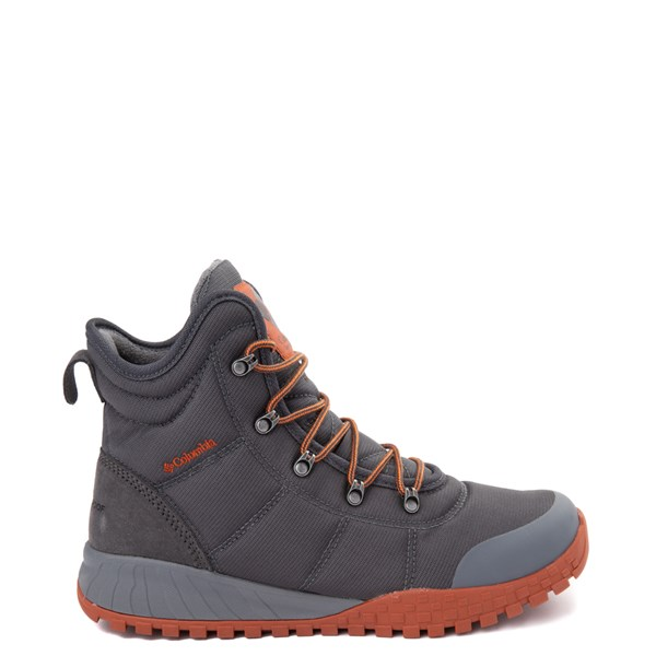 Mens Columbia Fairbanks Boot - Grey / Red