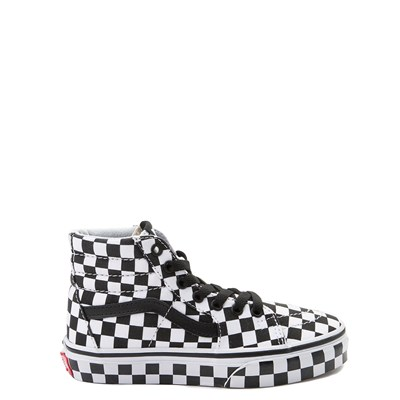 Main view of Vans Sk8 Hi Full Chex Skate Shoe - Little Kid / Big Kid